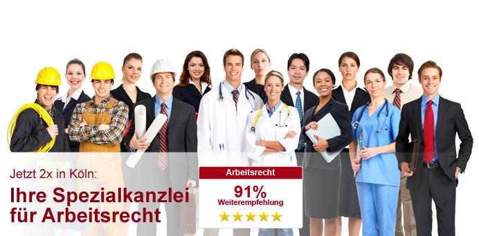 Rechtsanwalt für Arbeitsrecht in Köln