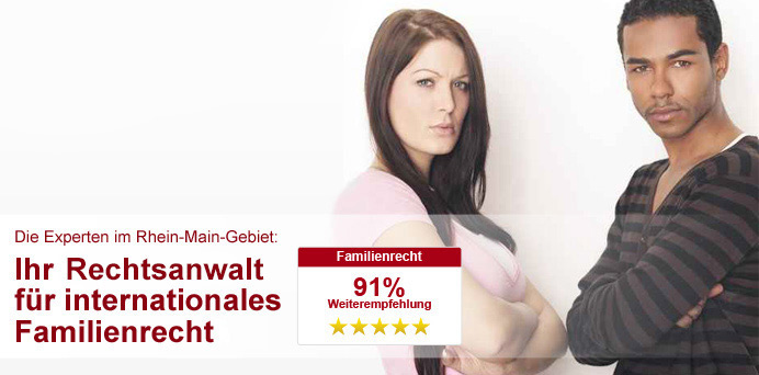 Rechtsanwalt für internationales Familienrecht in Frankfurt
