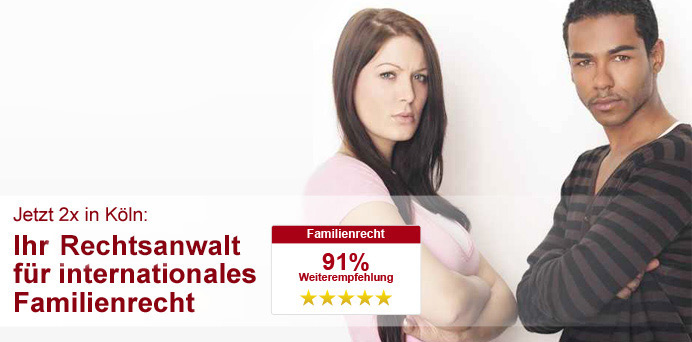Rechtsanwalt für internationales Familienrecht in Köln