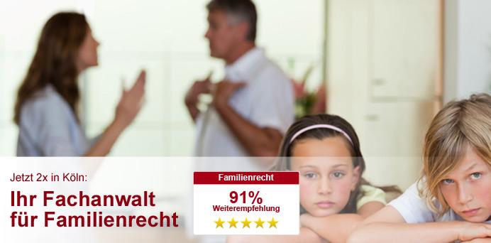 Rechtsanwalt Familienrecht Köln