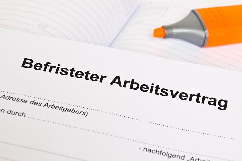 befristeter arbeitsvertrag kostenloses muster zum download kanzlei hasselbach - Arbeitsvertrage Muster