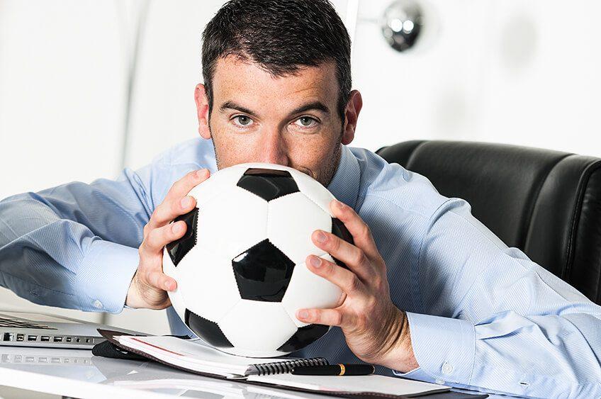 Kann ich bei der Arbeit Fußball schauen?