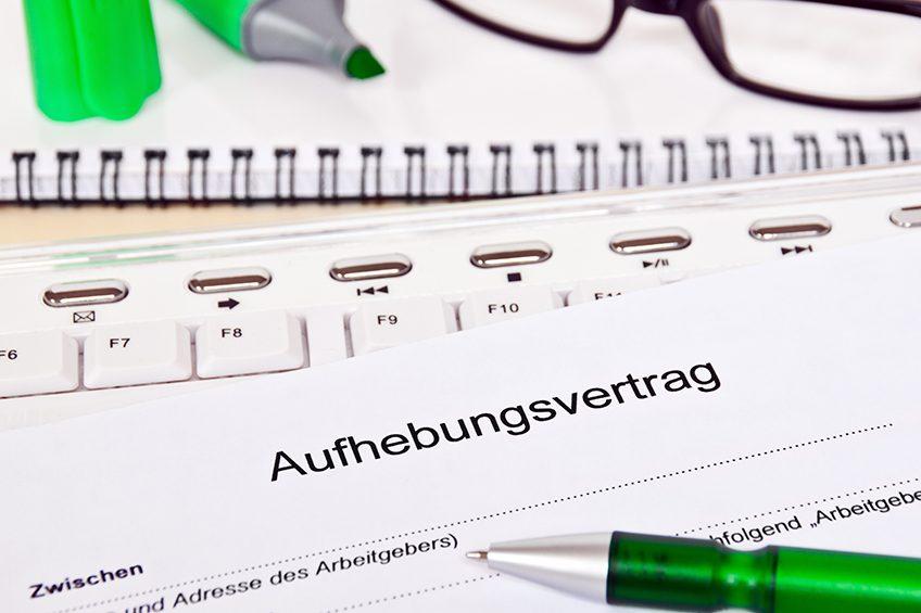 aufhebungsvertrag kostenloses muster zum download kanzlei hasselbach - Kundigung Arbeitgeber Muster Kostenlos