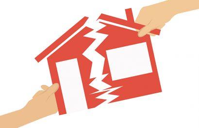Was wird bei einer Scheidung aus dem gemeinsamen Haus?