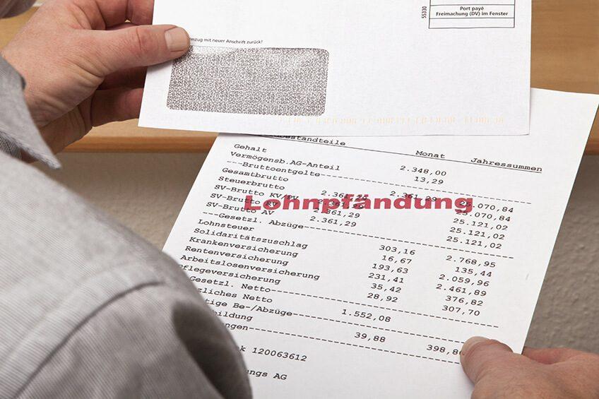 Lohnpfändung wegen Unterhalt und Unterhaltsrückstand