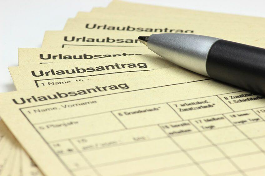 urlaub und urlaubsanspruch in der probezeit kanzlei hasselbach - Kundigung Probezeit Muster