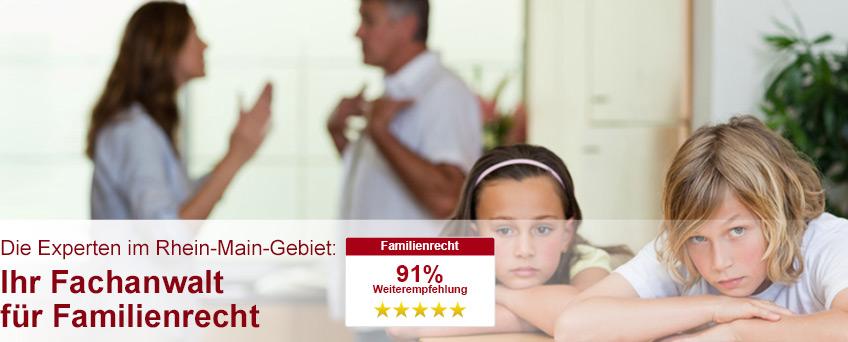 Fachanwalt für Familienrecht in Frankfurt