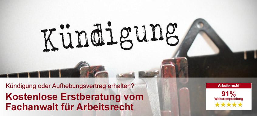 Abfindung Bei Betriebsbedingter Kündigung Kanzlei Hasselbach