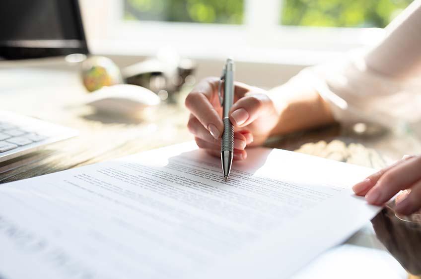 Infos zum Aufhebungsvertrag für Arbeitnehmer - mit Muster